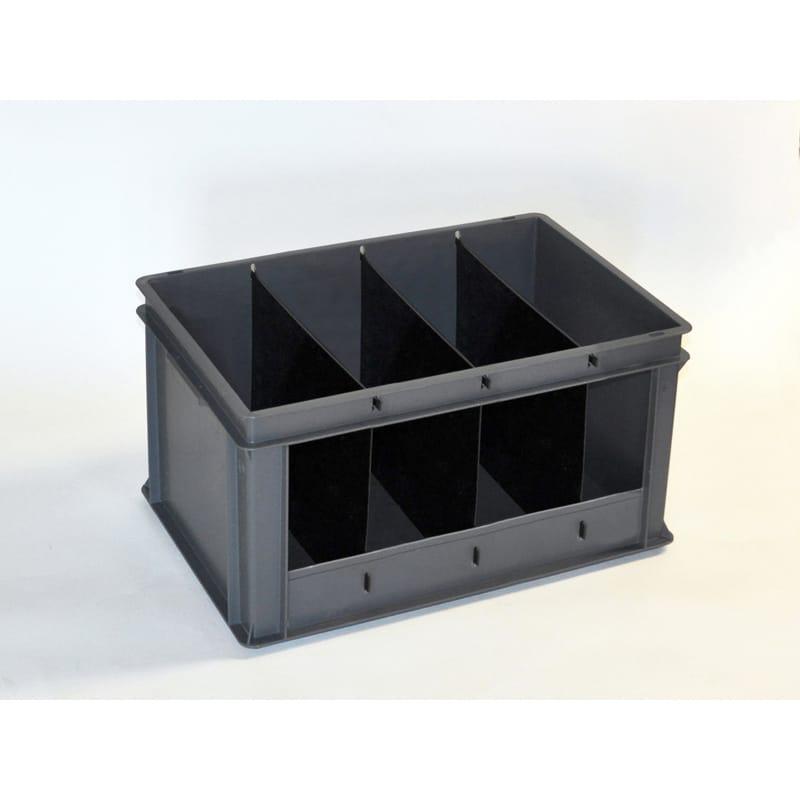 stapelbare bak 60 liter 4 secties. Black Bedroom Furniture Sets. Home Design Ideas